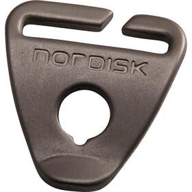 Nordisk Aluminium Helmet Slide 20mm 8 stuks, bruin
